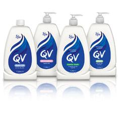 QV Skincare Bath Oil, Skin Lotion, Wash